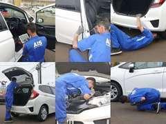 専門機関の検査をして品質を確認したお車だけ展示しております♪