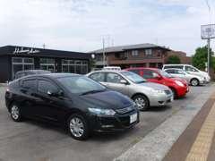 常時7~10台ほど展示しております。あなたの欲しい車がすぐに見つかる!