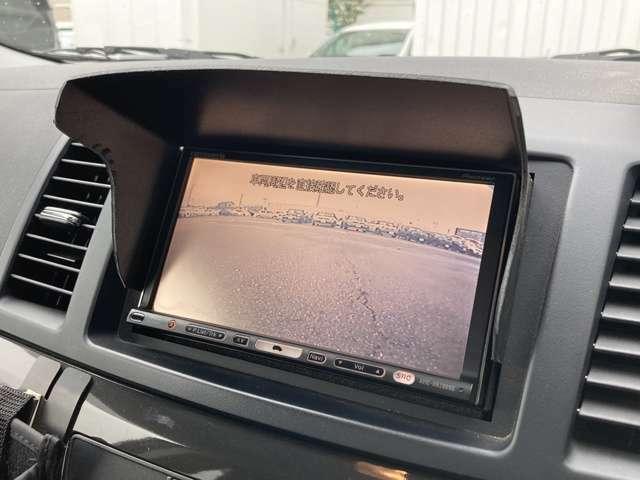 ◆社外HDDナビ◆ワンセグTV◆バックカメラ【駐車の際に後ろを映し出します。駐車が苦手な方でも安心して駐車ができます】