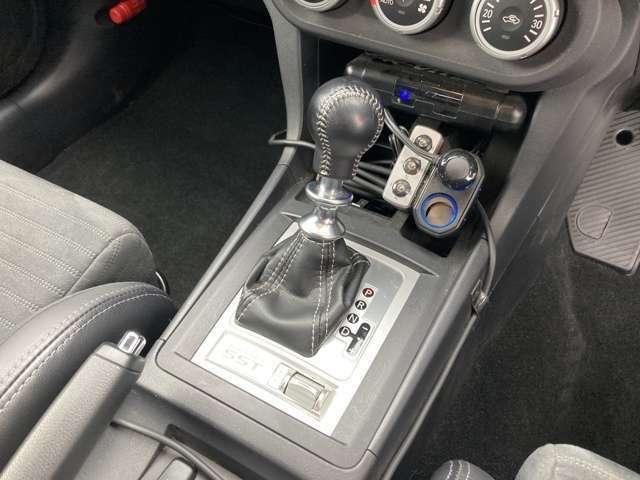 ◆MTモード付きAT【クルマを機械任せではなく自分自身でコントロールしたい!という運転好きのためにつけられています。】