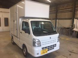 スズキ キャリイ KC・キッチンカー・移動販売車・2WD・AT・ 脱着式・シンク・換気扇・外部電源