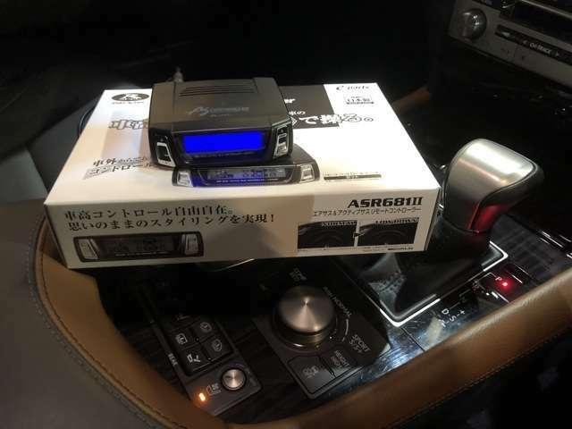 データシステムエアサスコントローラーを新品で装着!ボタン1つで車高調整できます☆