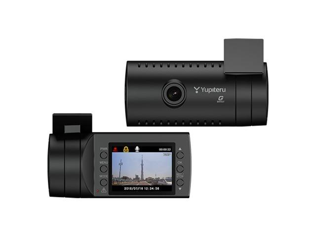 Bプラン画像:新品ユピテルドライブレコーダー!レンズ部可動式ブラケット一体型のGセンサー搭載 常時録画、Gセンサー記録、別売りオプションで駐車中も記録。音声も記録。100万画素カラーCMOS。
