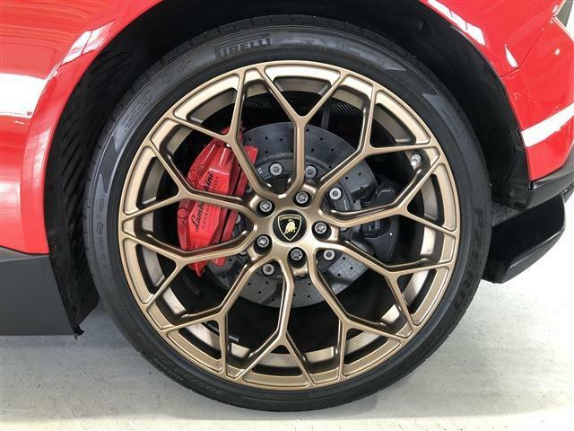 CCB with red calipers