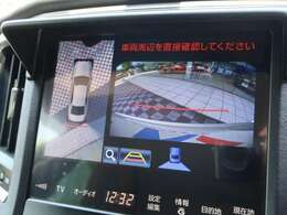 【純正HDDナビ】【アラウンドビューモニター&バックモニター】が装備されております。駐車が苦手な方でも安心して安全確認ができるオススメ機能です。