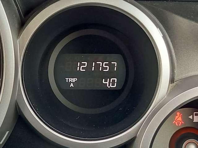 <メーター>走行距離12.2万kmです!