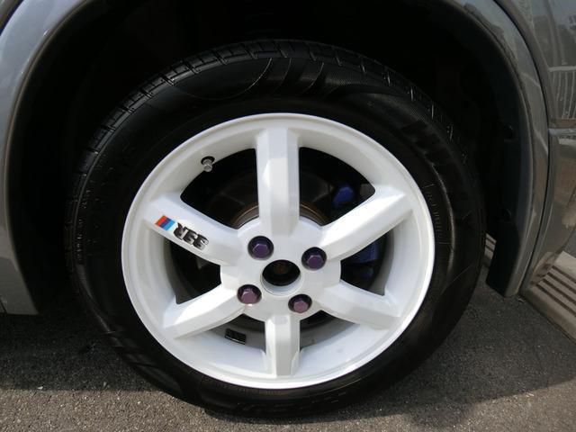 外品15インチAWですタイヤは4分山くらいです。