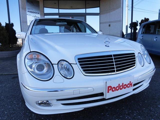 ☆2003年式 メルセデスベンツE320 アバンギャルド左ハンドルが入庫しました☆ワンオーナーで禁煙車です☆