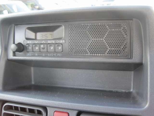 ★ 、ワンボディのAM/FMラジオを装備。お好みに応じたオーディオやナビを取付ける事も可能!オススメはスズキ純正オプション! こちらからお探し下さい⇒https://www.suzuki.co.jp/accessory_car/carry.html