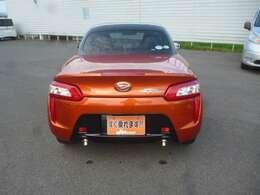 オレンジ。珍しいカラーですね!!少し茶色っぽい気がします。