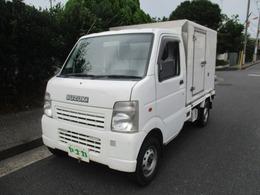 スズキ キャリイ 660 KCエアコン・パワステ 3方開 冷凍冷蔵車-15-20℃ オートマ