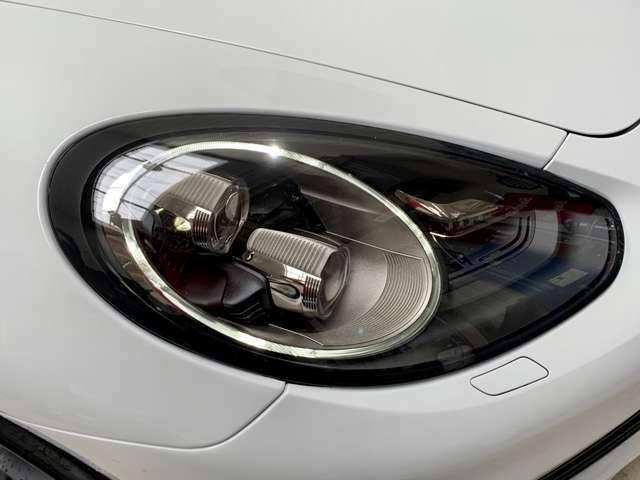 オプションのブラックLEDヘッドライトPDLSプラス装着