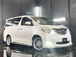 トヨタ アルファード 3.5 350G Lパッケージ 4WD 20AW ツインナビ 両パワスラ Wサンルーフ
