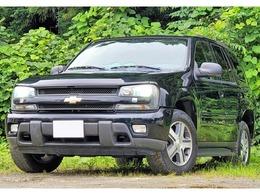 シボレー トレイルブレイザー LTZ サンルーフ装着車 4WD HDD/本革/Bカメ/シートヒーター/クルコン