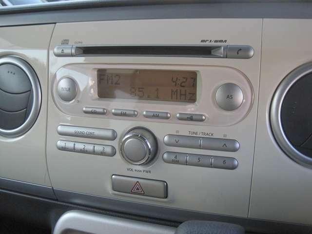 ★ オーディオはライン装着のCDプレーヤー! お好みに応じたオーディオやナビを取付ける事も可能です! ⇒https://www.suzuki.co.jp/accessory_car/spacia.html
