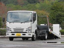 いすゞ エルフ 2.95t ワイド超ロング セルフローダー 内寸-長572x幅205x高11