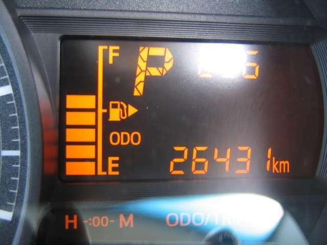 走行距離はおよそ26,400km
