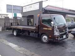 アメ車のフルサイズも積める積載車で、トラブルがあっても安心!