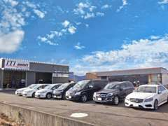 輸入車から国産車まで、当店が自信をもってオススメできる中古車を展示、販売しております。