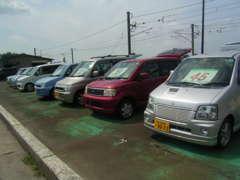 人気の軽自動車も展示販売中です!人気車種からお手頃車まで、幅広く取り揃えております。