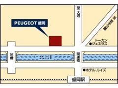 JR盛岡駅徒歩5分とアクセス良好な場所にございます。