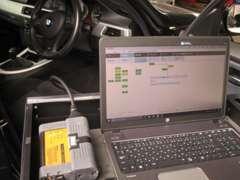 BMW専用の故障テスターでの診断が可能です。トラブルが生じた際は、すぐに対応できます。
