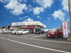 ◆益子駅(真岡鉄道)より徒歩1分♪ 新車市場益子店では、スズキ車を中心に、国産全メーカーの新車をお得にご提案しています♪