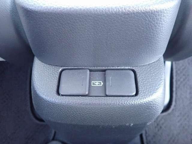 後席シートに便利な充電用のUSBジャックです!