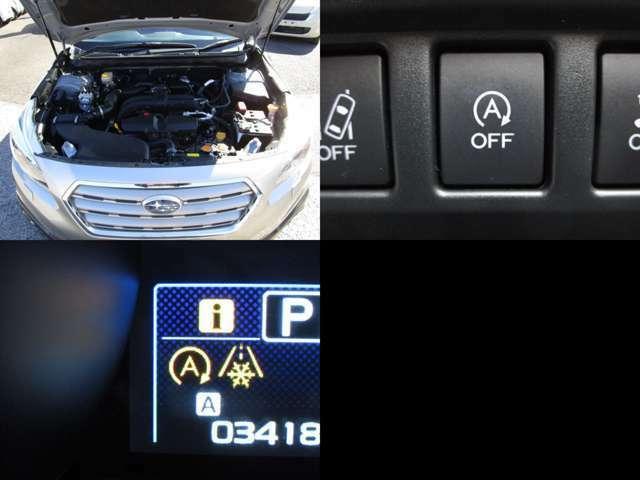 走行3.4万キロのエンジンルーム 勿論機能も問題無く快調です。 アイドリングストップ付で燃費も良好です。
