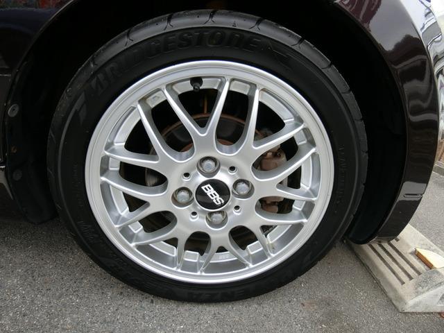 純正のBBS15インチAWですタイヤは4分山くらいです。