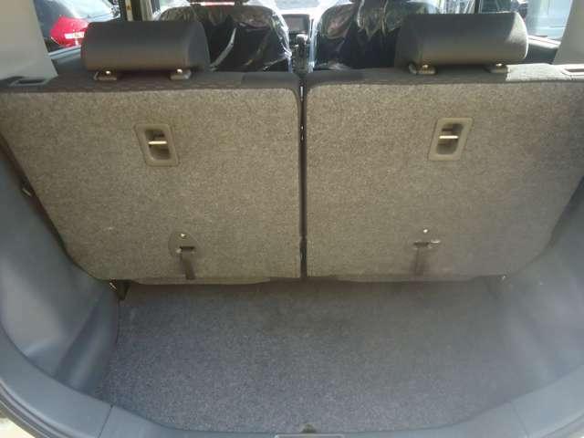 通常の荷物もこれだけ広ければ安心です。