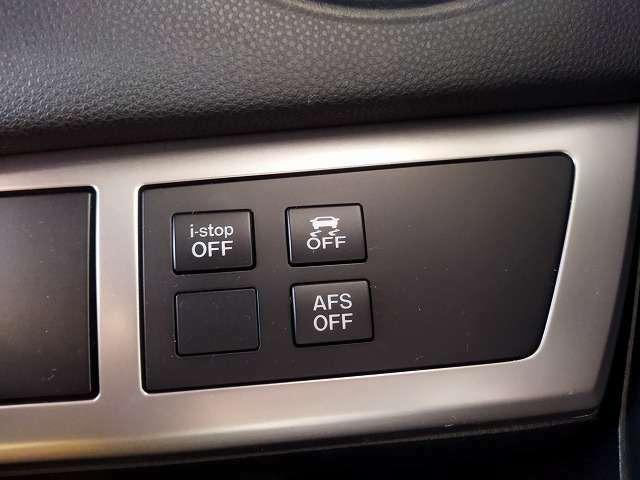 アダプティブフロントライティングシステム(AFS)&横滑り防止装置&アイドリングストップ搭載車です!