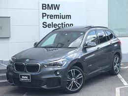 BMW X1 xドライブ 20i Mスポーツ 4WD 1オーナーSRシートヒータ純正HDDナビBカメ