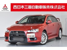 三菱 ランサーエボリューション 2.0 GSR X 4WD ドラレコ・メモリーナビ・Bカメラ・ETC
