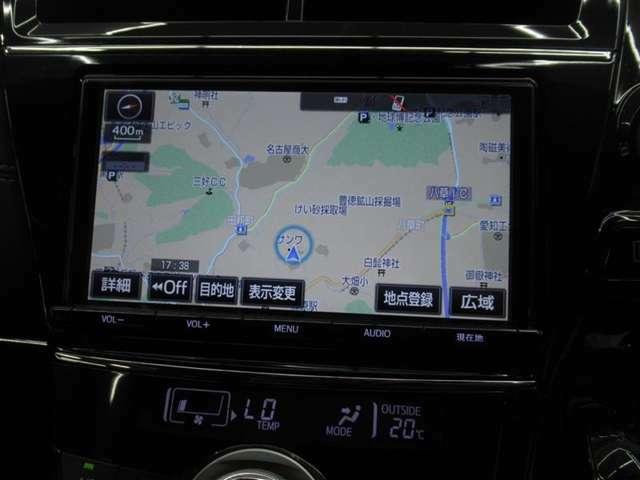 このU-CARにはカーナビゲーションが装着されておりますので、目的地までのルート検索もラクラク♪