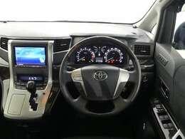 ハンドルやシートなども隅々までクリーニング済み。キレイな車内でドライブがより一層快適にお楽しみいただけると思います。
