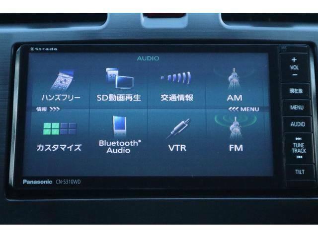 パナソニック製SDナビを搭載しております。無線オーディオも接続可能です。