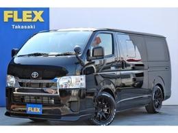 トヨタ ハイエースバン 2.0 DX ロング GLパッケージ 新型 地デジナビ 17アルミ LD LEDテール