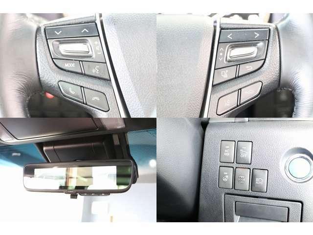 レーダークルーズコントロール プリクラッシュセーフティー LTA ステアリングヒーター オートマチックハイビーム デジタルインナーミラー