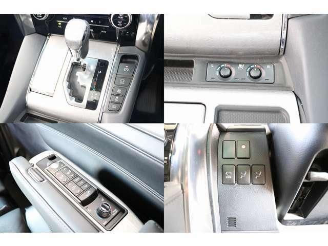 エアコンディショニングシート(シートヒーター&ベンチレーター) 100V電源 両側オートスライドドア パワーバックドア