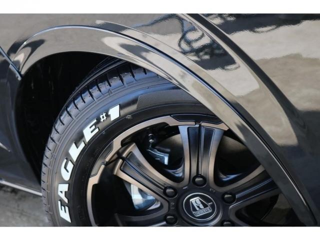 タイヤとセットでオリジナルオーバーフェンダ―装着!より乗り心地崩さずローダウン感を出せます!