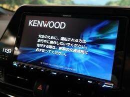 ケンウッド9型ナビが搭載されています☆