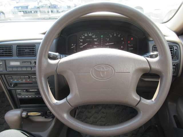 とても楽な姿勢で運転ができます。