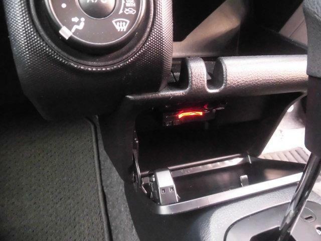 ETCも装備していますよ!ETC車載機を利用すると高速料金が割引に!!おサイフにも優しい装備ですね♪