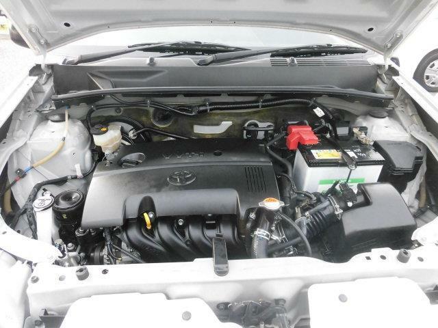 エンジンルームもきれいですよ。機関機構系も良好です。納車前に点検整備も行います。エンジンオイル・オイルフィルター・エアコンフィルター・ワイパーゴムは必ず交換致します(エアコンフィルターは、装着車のみ)