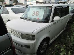 トヨタ bB 1.5 Z Xバージョン 4WD 車検整備2年付 フルエアロ