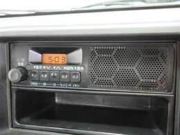 純正ラジオ搭載