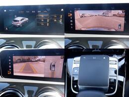 バックモニターおよび車両設定画面