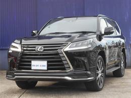 レクサス LX 570 ブラック シークエンス 4WD モデリスタエアロ リアエンターテイメント