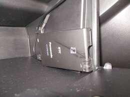 料金所をノンストップで通過できるETC装備!※社外品のため車両保証対象外となります。